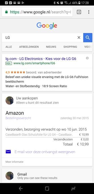 Google Persoonlijk: nieuw tabblad met persoonlijke ...