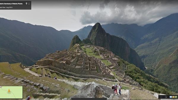 Google Street View Machu Pichu