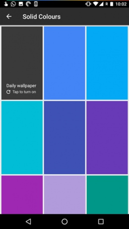 Google Wallpapers Solid Colors