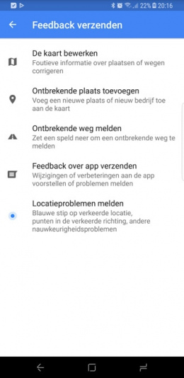 Google Maps bewerk-tools