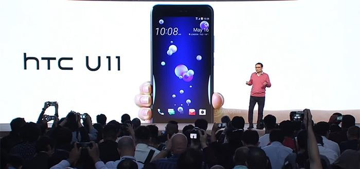 Nieuwe HTC-teaser laat schermrand HTC U11 Plus zien