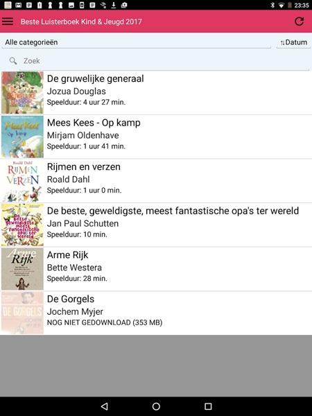 Hebban Luisterboek app