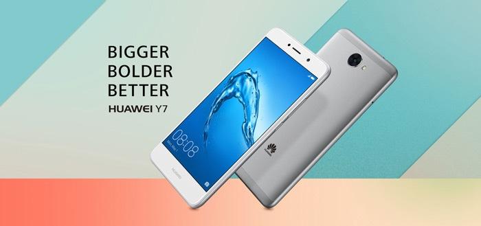 'Huawei Y7 met 4000 mAh accu komt naar Europa voor 200 euro'