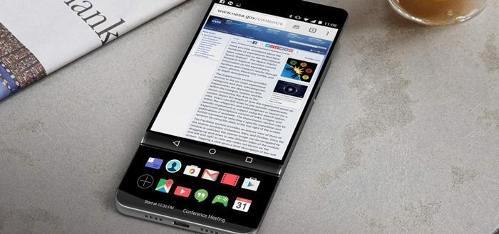 Evan Blass: 'LG V30 krijgt heel bijzonder slider-design met tweede scherm'