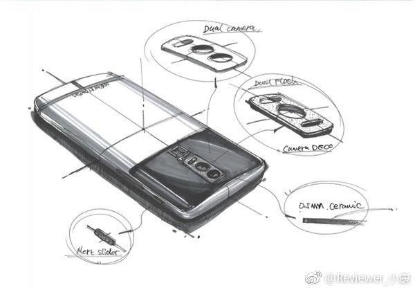 OnePlus 5 schetsen