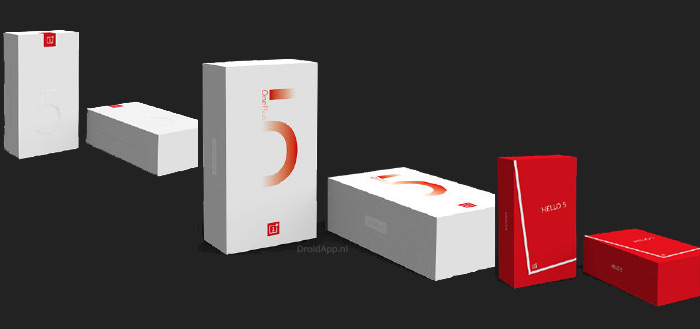 OnePlus wil jouw mening over het verkooppakket van de OnePlus 5