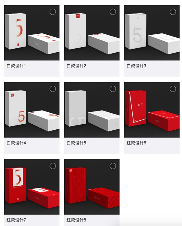 OnePlus 5 verkooppakket