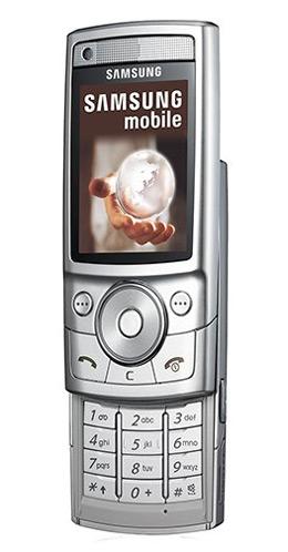 Samsung G600 zilver