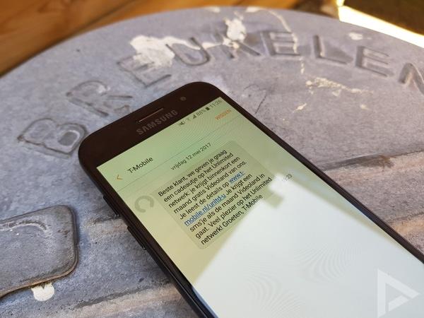 Samsung Galaxy A3 2017 sms