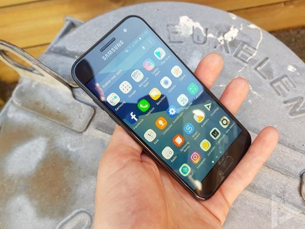 Samsung Galaxy A3 2017 menu