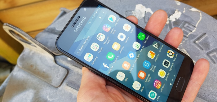 Samsung Galaxy A3 (2017): update met camera-features en patch maart