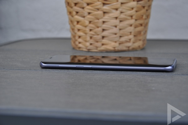 Samsung Galaxy S8+ toetsen