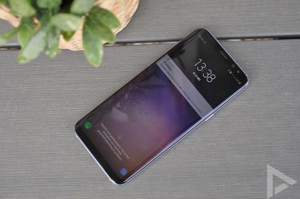 Samsung Galaxy S8 vergrendelscherm