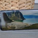 Samsung Galaxy S8+ test