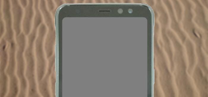 Galaxy S8 Active zonder gebogen schermranden laat zich zien
