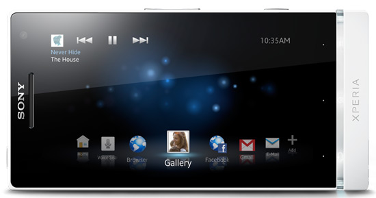 Sony Xperia S software