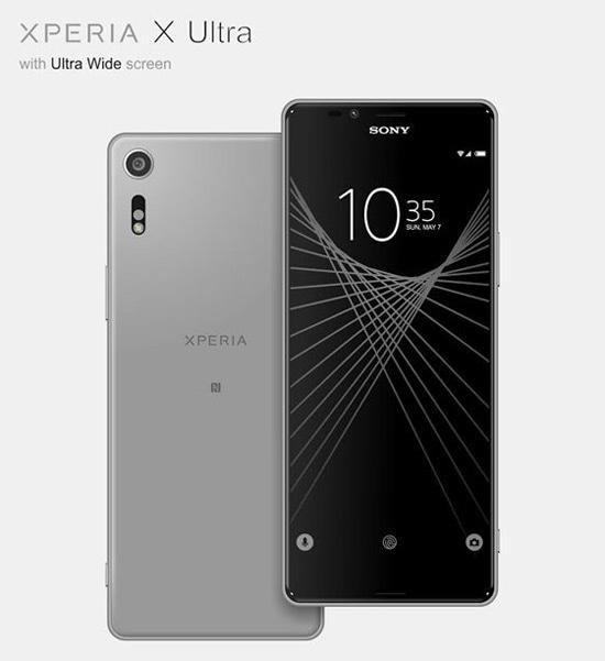 Sony Xperia X Ultra renders