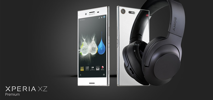 Sony Xperia XZ Premium pre-order gestart met gratis headset