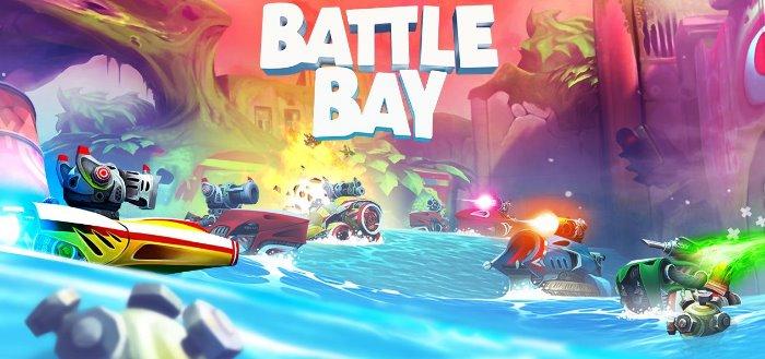 Battle Bay spannende nieuwe actiegame van maker Angry Birds