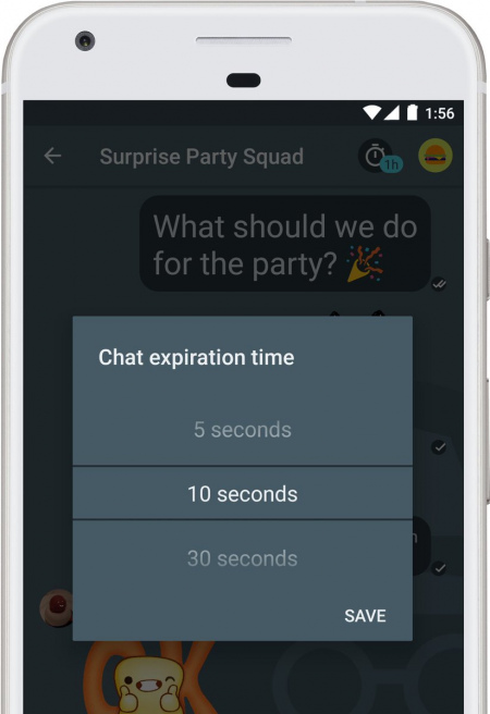 Google Allo chat timeout
