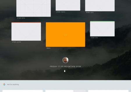 Google Fuchsia OS prototype