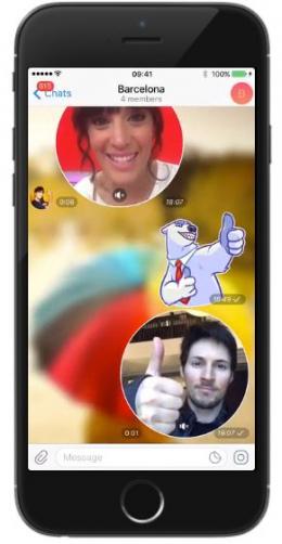 Telegram 4.0 videobericht