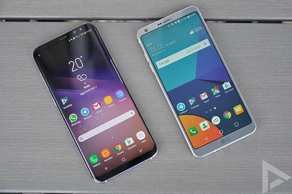 LG G6 Samsung Galaxy S8
