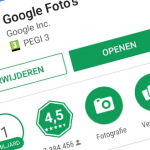 Google Foto's behaalt 1 miljard downloads in Play Store
