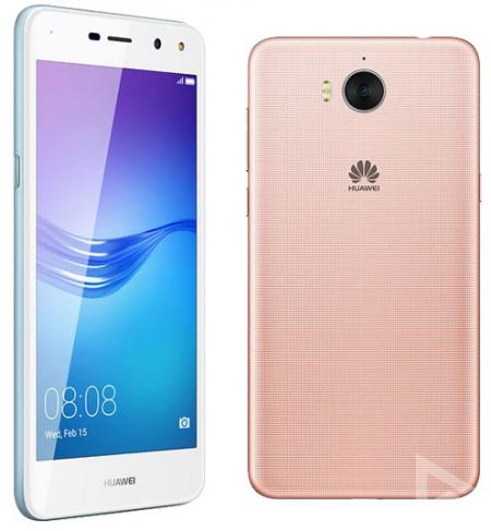 Huawei Y6 (2017) blauw roze