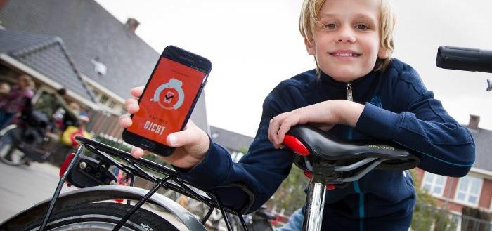 KPN Safe Lock: slim fietsslot blokkeert je smartphone tijdens het fietsen