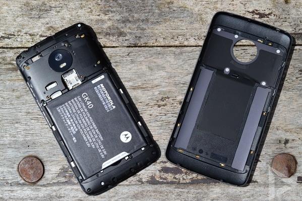 Moto G5 achterkant
