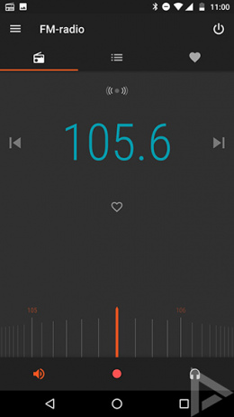 Moto G5 FM-radio
