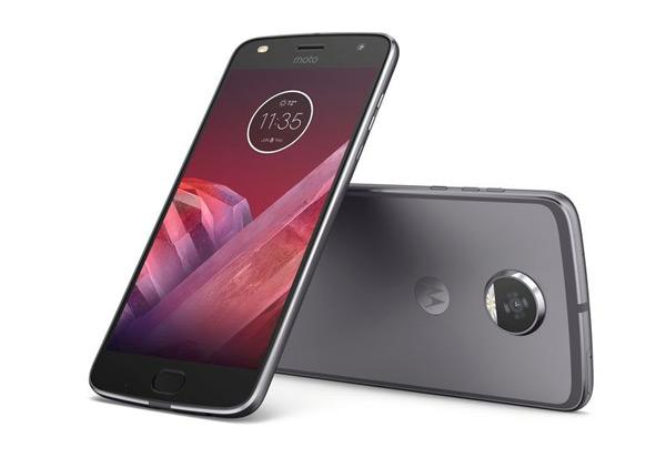 Moto Z2 Play Android 8.0 Oreo