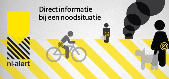 NL-Alert controlebericht wordt weer verzonden op 4 juni
