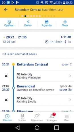 NS Reisplanner Xtra 5.0 planner