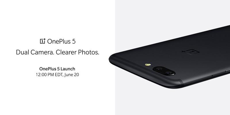 OnePlus 5 dual-camera