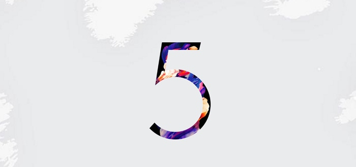 Eerste officiële render OnePlus 5 opgedoken: aankondiging definitief 20 juni