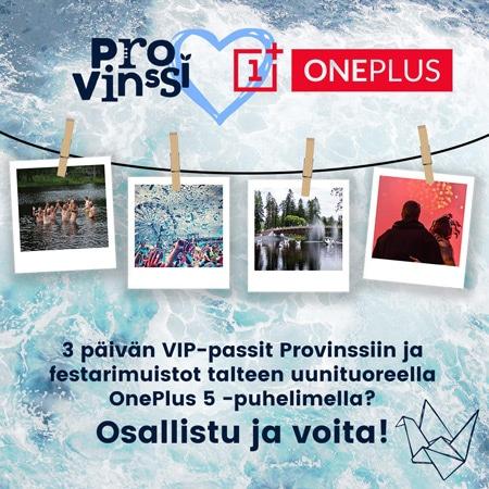 OnePlus 5 prijs event finland