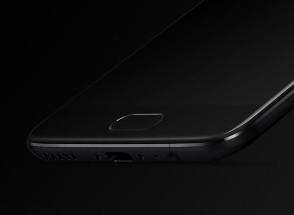 OnePlus 5 vingerafdrukscanner