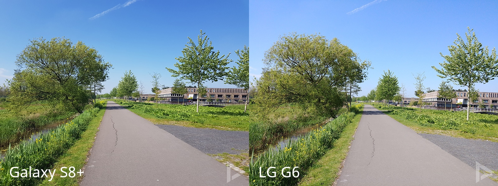 camera Galaxy S8 vs LG G6
