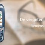De vergeten telefoon: Siemens CX70