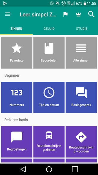 Simya taal leren app