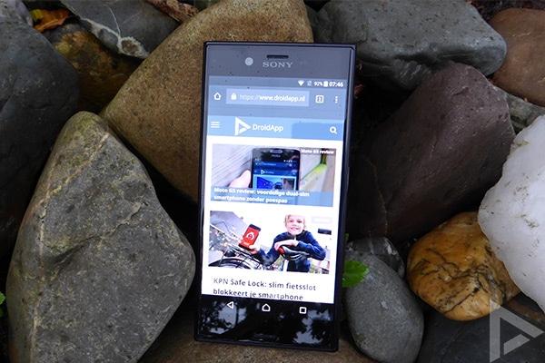 Sony Xperia XZs internet