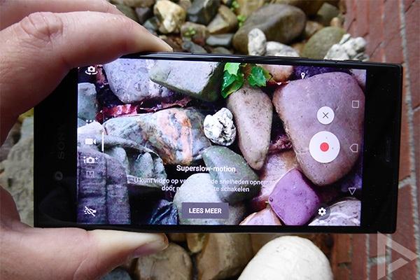Sony Xperia XZs slow-motion
