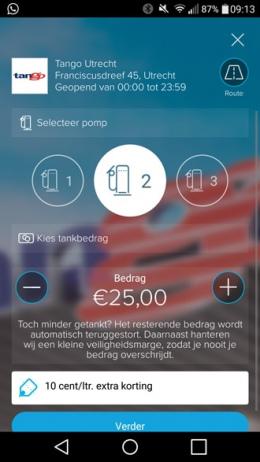 Tango MyOrder app