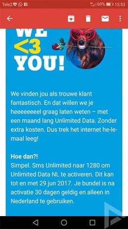 Tele2 gratis maand internet