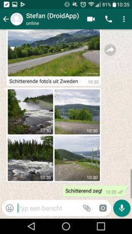 WhatsApp 2.17.287 albums