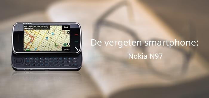 Nokia N97 vergeten smartphone