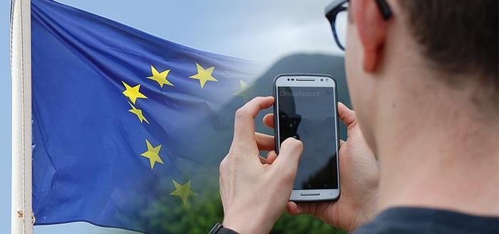 roaming EU smartphone
