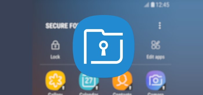 Samsung plaatst Secure Folder applicatie in Play Store